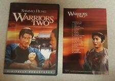 Warriors Two DVD RARE OOP! Sammo Hung, Billy Chan. Region 1! w/ Insert. Free S&H
