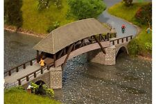 Faller 120494 HO 1/87 Vieux pont en bois - Old timber bridge