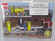 Busch 1413 Bausatz :  1 x DDR - LPG Dieseltankstelle