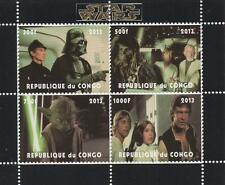 STAR WARS MOVIE MINIATURE MNH STAMP SHEETLET 2013