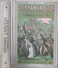 1920s STEPHEN LANGTON ONE OF THE LAST YELLOWBACK TITLES