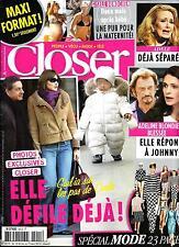 CLOSER N°401 16 FEVRIER 2013  BRUNI/ BLONDIEAU/ BUNDCHEN/ ADELE/ SPECIAL MODE