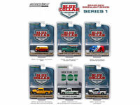 BLUE COLLAR COLLECTION SERIES 1, SET OF 6 CARS 1/64 DIECAST BY GREENLIGHT 35040