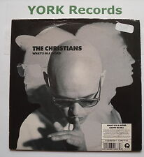 "CHRISTIANS - What's In A Word - Excellent Condition 7"" Single Island IS 536"
