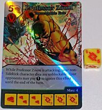 Foil PROFESSOR ZOOM: INESCAPABLE FATE 69 Green Arrow and The Flash Dice Masters