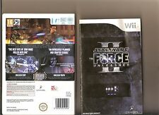STAR WARS FORCE UNLEASHED 2 NINTENDO WII