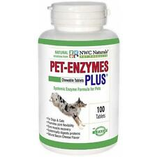 NWC Naturals Pet-Enzymes Plus Joint and Allergy Formula for Dogs and Cats, New,