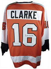 Bobby Clarke Autographed Philadelphia Flyers Hockey Jersey #1, JSA