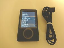 MICROSOFT   ZUNE  BLACK  CUStOM...NEW 128GB  SSD  DRIVE...