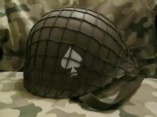WW2 US 101st Airborne Helmet with Net (Band of Brothers/Saving Private Ryan)