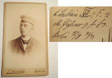 Berlín-Corps Teutonia-WS 1892/93 - C. seelheim-CDV/studentika