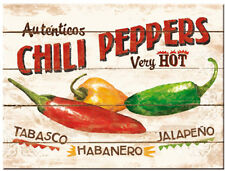 Chili Peppers, Hot, Bistro Cafe Kitchen Bar Restauraunt, Gift Fridge Magnet Art