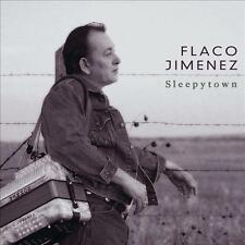 FLACO JIMENEZ - Sleepytown (CD 2000) USA Promo MINT Dwight Yoakam Roots/Tejano
