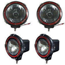 4 inches 4x4 Off Road 6000K 55W Xenon HID Fog Lamp Light 2pcs-Flood+2pcs-Spot