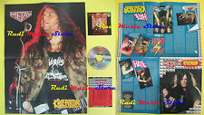 CD+POSTER KREATOR Pleasure to kill/flag CURCIO PROMO METAL HM-15 lp mc dvd vhs