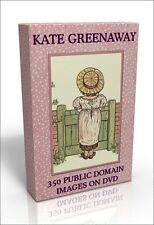 Kate Greenaway - more than 350 public domain pictures on DVD