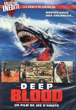 Deep Blood DVD Croco Films Joe D'Amato Sharksploitation