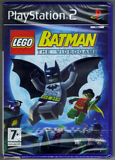 PS2 LEGO Batman The Video Game (2008), UK Pal, New & Sony Factory Sealed