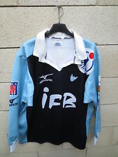 VINTAGE Maillot rugby COLOMIERS Mizumo shirt LNR ancien collection XL Itinéris