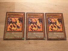 3 x Volcanic Queen LODT-EN005 Playset) Common Yugioh Card