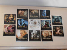 The Lord of the Rings Soundtrack Single sided Pictures. 13 Pictures, New.