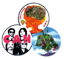3 CAN BADGES. Tago Mago.