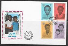 UNICEF-Jahr des Kindes/ St.Vincent+Grenadines MiNr 175/78 FDC
