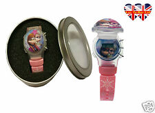Frozen LCD Children's Liquid Filled Watch and Flashable