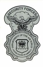 Air Force Security Forces Shield Small Decal