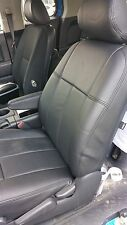 Ford F-250 F350 super cab crew Black Clazzio Perforated leather seat cover kit