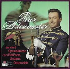 Peter Alexander - Spezialitäten a. Böhmen, Ungarn, Österreich - LP Vinyl - 76425
