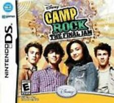 Camp Rock The Final Jam GAME Nintendo DS DSI XL LITE 3 3DS 2 2DS **FREE SHIPPING