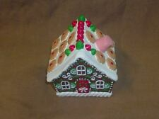 Gingerbread House with Secret Door / Santa on Skis at the North Pole Inside!