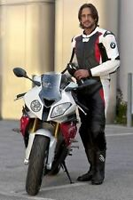 BMW Motorbike Leather Suit Motorcycle Cowhide Leather Suit Racing Suit