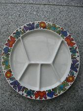 5 ASSIETTES à FONDUE ACAPULCO VILLEROY & BOCH 24,5 cm