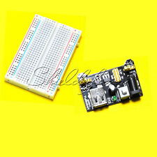 5V/3.3V MB102 Breadboard Power Supply Module+Breadboard 400 Tie-points Contacts