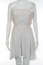 Maje Pink Strapless Dress Size Extra Small NEW