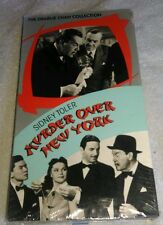 Murder Over New York VHS Charlie Chan Sidney Toler 1940 Quiz Card Play Tested