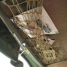 VW Käfer -64 Gepäcknetz für das Dach, den Dachhimmel, Farbe: Bambus (-029)