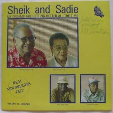 SHEIK and SADIE ~ NEW ORLEANS jazz vinyl LP ~ RARE and SIGNED!
