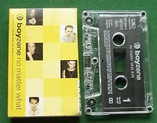 Boyzone No Matter What Cassette Tape Single - TESTED