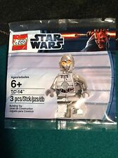 Lego Star Wars TC-14 (Chrome C3PO) Droid New /Sealed Bag Minifigure - Free Ship!