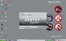 Toughbook CF-19 with hdd xentry/das12/2015 software for mb SD c4/star C3