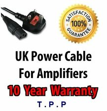 UK Mains Power Lead Cable Cord For Fender Amp Amplifier Amps