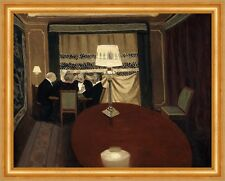 The Poker Game Felix Vallotton Pokern Männer Tisch Salon Kartenspiel B A3 01747
