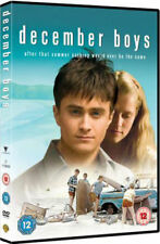 December Boys DVD NEW and SEALED Daniel Radcliffe