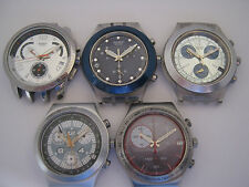 SWATCH Irony Diaphane Chrono BIG JOB LOT SPARES REPAIR ufix