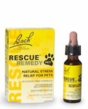 Bach Flower Essences Rescue Remedy 10 ml  Pet For Cats & Dogs Brand New