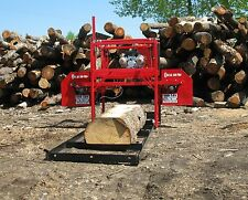 Hud-Son Forest Equipment Oscar 336 Portable Sawmill Bandmill Cabin Kit Saw Mill