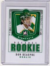 DON BEAUPRE 10/11 ITG Decades 1980s Rookie #DR-10 SP Insert Card North Stars